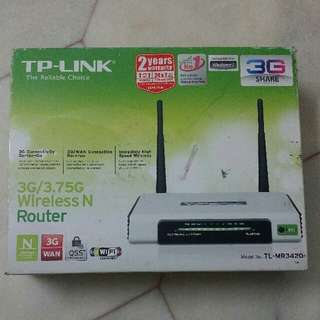 TP-LINK wireless N Router 3G/3.75G