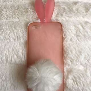 Pink iPhone 5/SE Bunny Phone Case