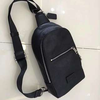 Coach Men real leather chest bag