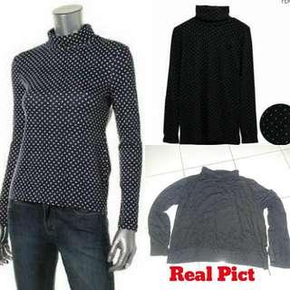 Turtleneck Polkafot Outfit Carfi Blazer