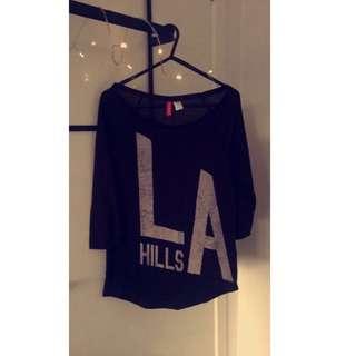 H&M LA Hills T-shirt