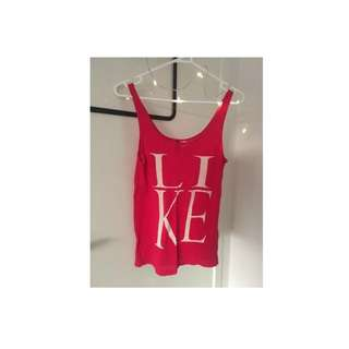 "H&M ""LIKE"" Tank Top"