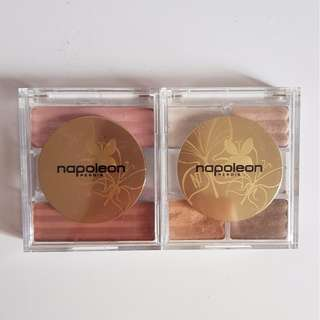 Napoleon Perdis Blush & Eyeshadow set