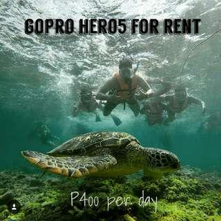 GoPro Rent