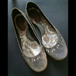 Born美國手縫鞋/平底娃娃鞋