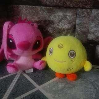 Pink Stitch And Chick
