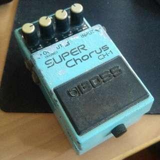 BOSS Super Chorus CH-1 CH1 (Blue Label)