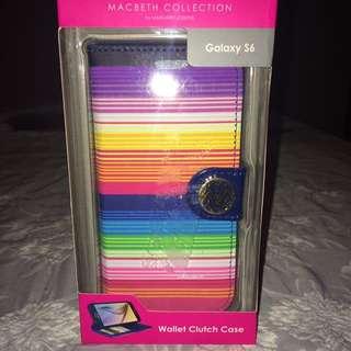 Brand New Macbeth Wallet Clutch Case for Galaxy S6