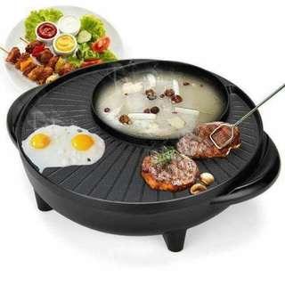 2in1 BBQ Grill Pot