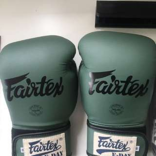 Brand New Limited Edition Fairtex Boxing Gloves