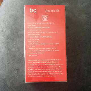 BQ Aquaris E6 Phone