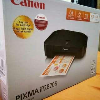 Brand New Canon Pixma iP2870S