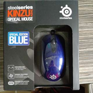 Steelseries Kinzuv2 Optical Mouse Special Edition Blue