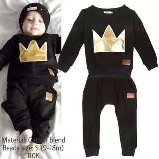 set black king (baby boy)