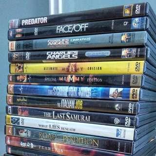 DVDs [list 3]