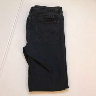 Jeanswest Distressed Black Jeans