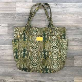 Marc jacobs green large tote