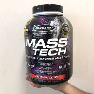 MUSCLETECH MASSTECH STRAWBERRY