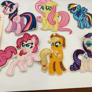 my little pony mlp iron on patch