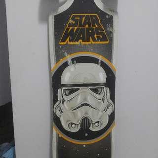 limited edition star wars long board