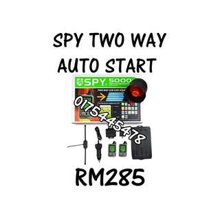 Spy Two Way Engine Auto Start