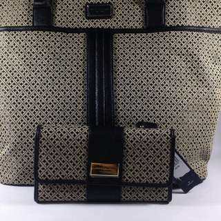 Tommy Hilfiger Large Tote and Wallet  Terno