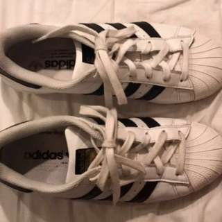 Adidas original superstars!