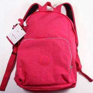 Available On Hand Original Kipling Backpack Color: Vibrant Pink Size :  7.5 x 12.5 x 16.2 inches   Price: 4,800