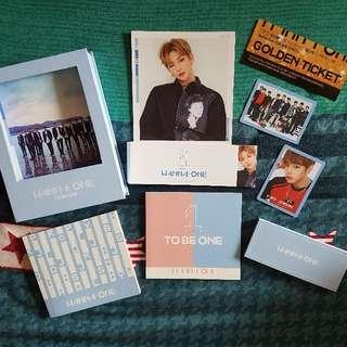 WANNA ONE Mini Album Vol. 1 - 1X1=1 (TO BE ONE) (Sky Version)