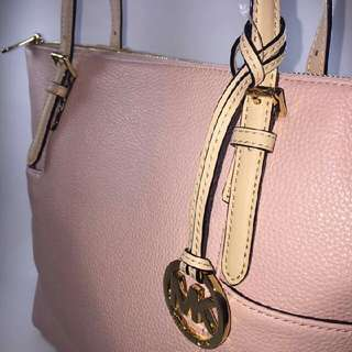 Original Michael Kors Jetset Baby Pink Soft Leather Tote