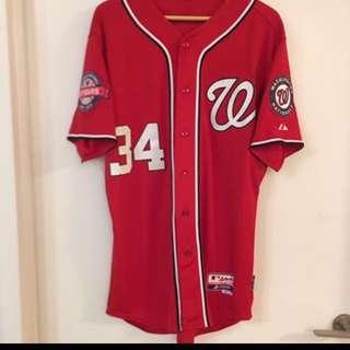 Washington Nationals MLB jersey