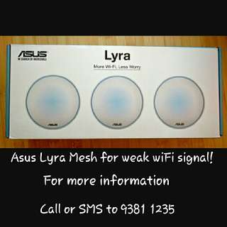 Asus Lyra for Weak WiFi