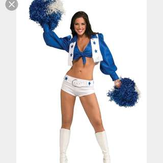 Dallas cowboy cheerleader Halloween costume