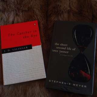 Catcher in the Rye and Stephenie Meyer book