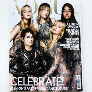 British VOGUE September 2017 Magazine