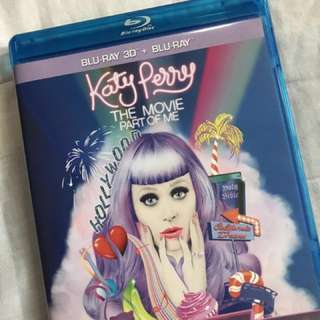 Katy Perry Part of Me Blu-Ray 2-Disc (Original)