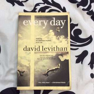 EVERYDAY (David Levithan)