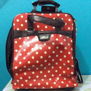 Polka Dot Luggage