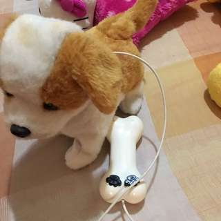 Toy dog battery operated