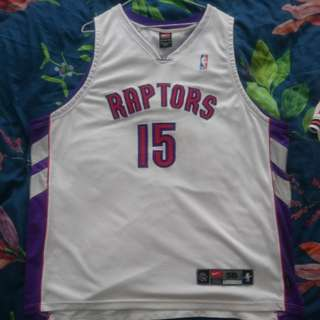 Nike authentic raptors Vince Carter jersey all sewn dri fit Rare