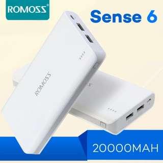 Romoss Sense 6 20000mAh Powerbank (White)