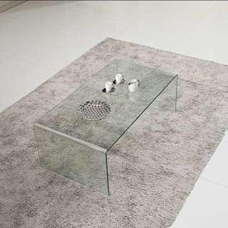 • Modern Glass Table