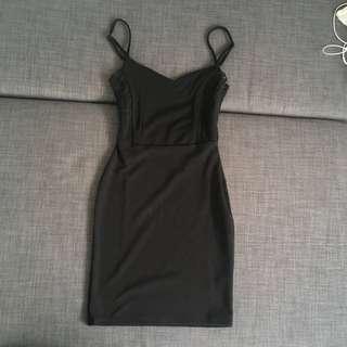 Black Miss Selfridge Dress (4)