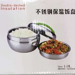 Double Decked Insulation Lunch Box