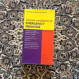 Medical Books Oxford Handbook Of Emergency Medicine