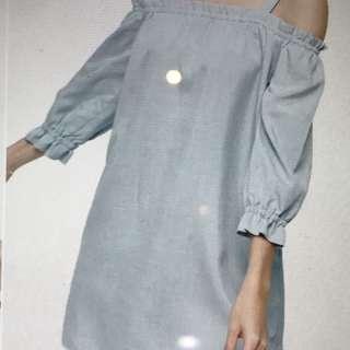 Love Bonito Shonley off Dress shoulder dress