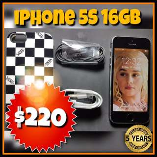 Refurbished IPhone 5S 16GB Grey & Gold @Phonebot,60 Days Warranty
