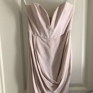 Zimmerman 100% Silk Mini Plunge Dress