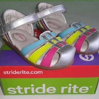 Stride Rite Sandals Silver Girls Srt Jaya toddler