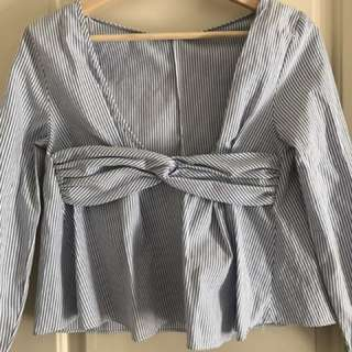 Open Back Zara Blouse
